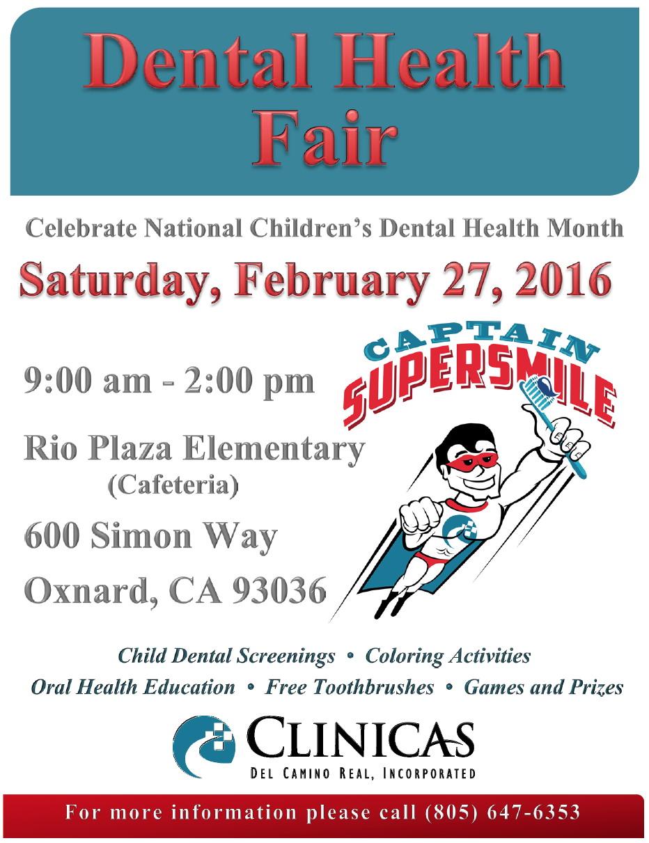 Bilingual report: Clinicas del Camino Real Inc. hosting dental health fair on Feb. 27 in honor of National Children's Dental Health Month