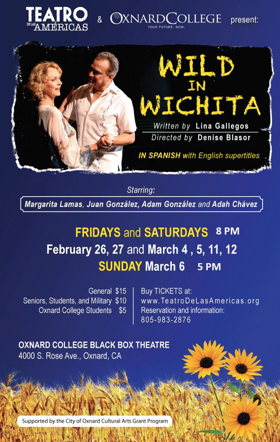 Bilingual report: Teatro de las Américas to present 'Locuras en Wichita' on March 11 and 12 at Oxnard College
