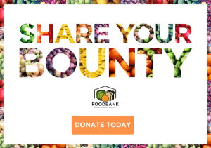Share Your Bounty: Help the Foodbank Distribute 225,000 Pounds of Produce by April 1