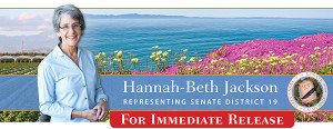 State Sen. Hannah-Beth Jackson new parent leave bill heads to the governor