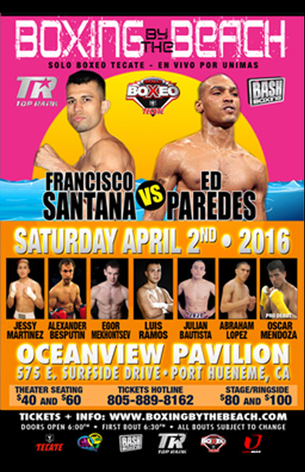 Ocean View Pavilion to present 'Boxing by the Beach' on April 2