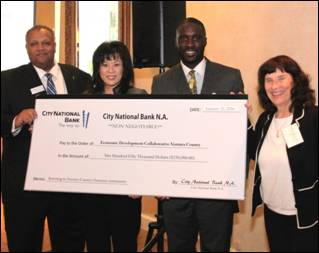 City National Bank fortifies EDC-VC Loan Fund with $250,000 to help local businesses