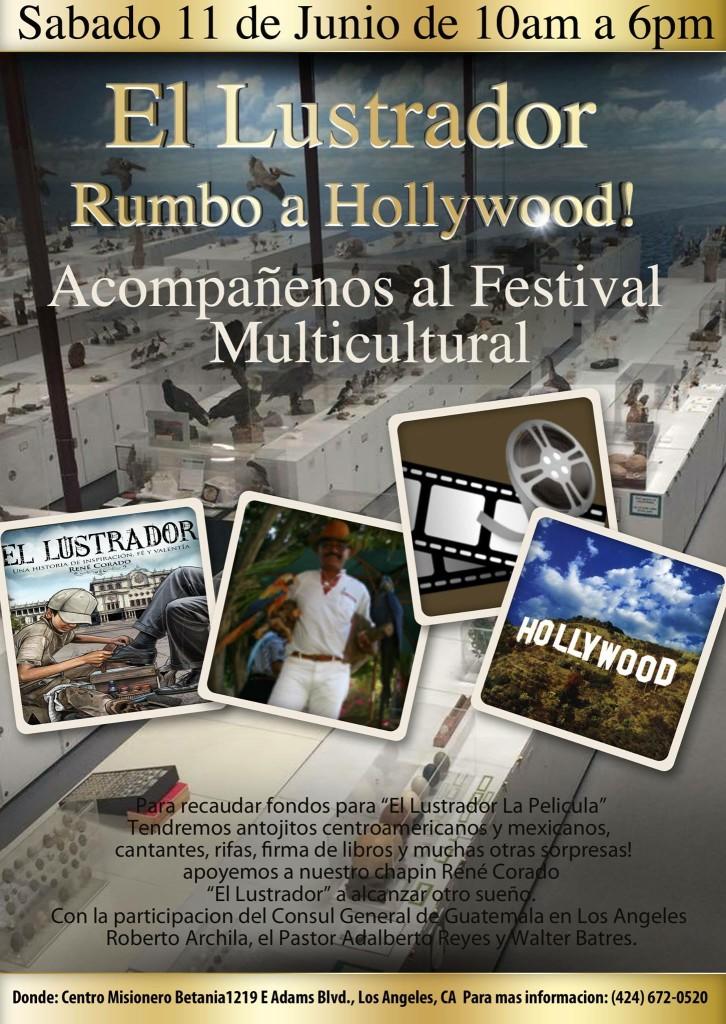 El Lustrador Rumbo a Hollywood el 11 de junio
