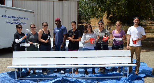 LinkedIn Volunteers Lend a Helping Hand at Santa Barbara Humane Society