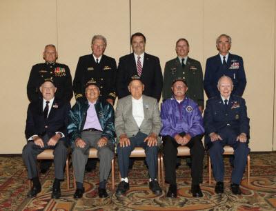 "Five Local Korean War Veterans Honored at ""The Forgotten War"" Symposium"