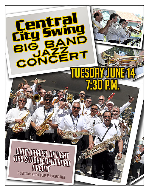 Central City Swing Band to perform annual 'Summer Concert' on June 14