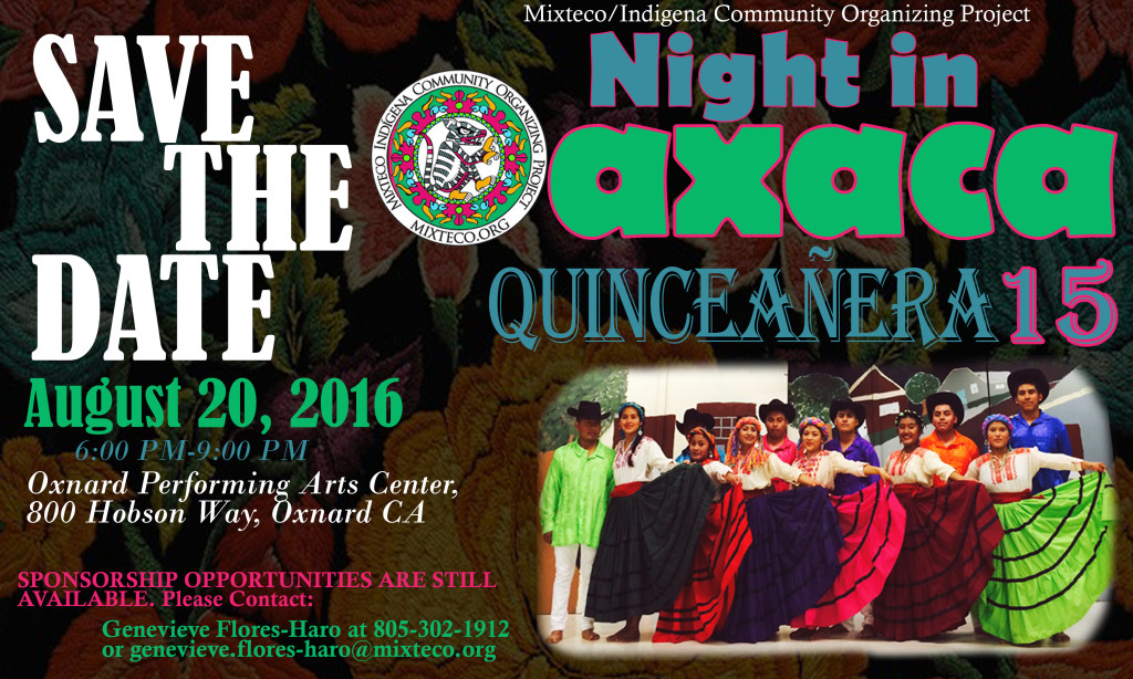 MICOP to present 'Night in Oaxaca Quinceañera 15' on Aug. 20