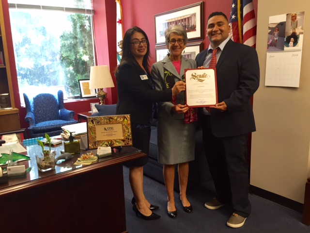 State Sen. Hannah-Beth Jackson honors La Hermandad Hank Lacayo Youth and Family Center as her Non-Profit of the Year