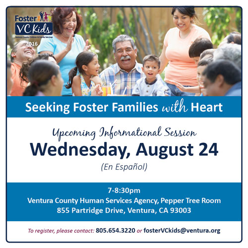 Foster VC Kids Hosts Spanish Foster Family Informational Session on Aug. 24