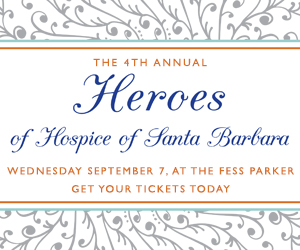 Hospice of Santa Barbara Presents Fourth Annual Heroes of Hospice Awards and this Year's Recipients on Sept. 7