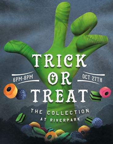 The Collection at RiverPark Hosts 3rd annual Trick-or-Treat Event, Oct. 27