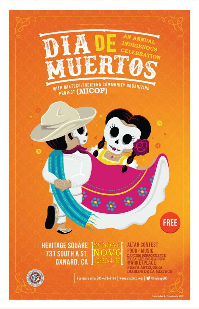 Mixteco/Indígena Community Organizing Project to present Día de los Muertos Celebration on Nov. 6