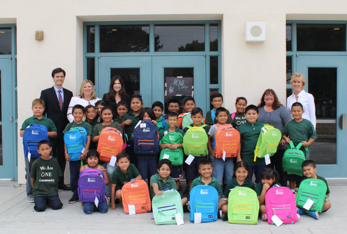 City National Bank in Partnership with United Way of Santa Barbara County Provide Free Back-To-School Backpacks and Supplies to Local School children