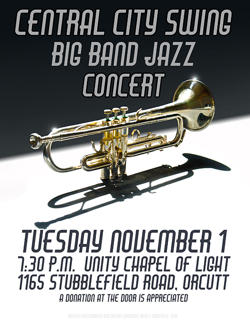 Central City Swing – Fall Concert on Nov. 1