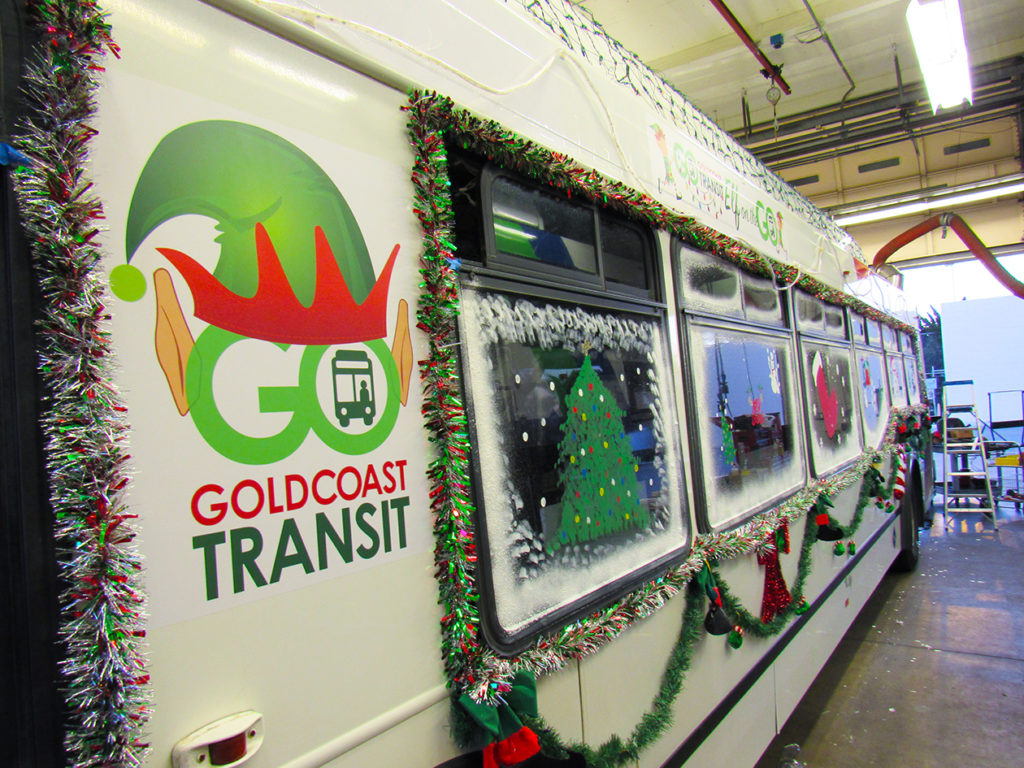 "Catch the ""ELF on the GO"" Holiday Bus!"