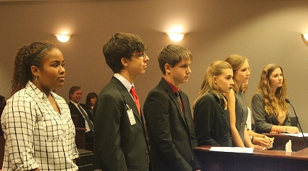 Ventura Family YMCA Youth & Government Delegates Host Bill Hearing Night to Prepare for State Conference