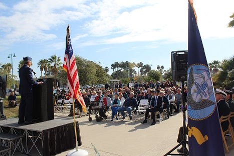 Community Commemorates 75th Anniversary of Pearl Harbor Attacks at Event Hosted by the Pierre Claeyssens Veterans Foundation