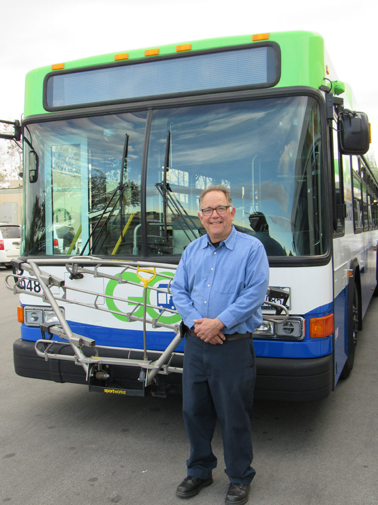 Gold Coast Transit District's Robert Lurie, Director of Fleet and Facilities, retires after 35 years
