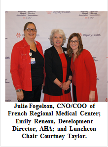San Luis Obispo Wear Red Day Luncheon Raises Awareness About Women and Cardiovascular Disease