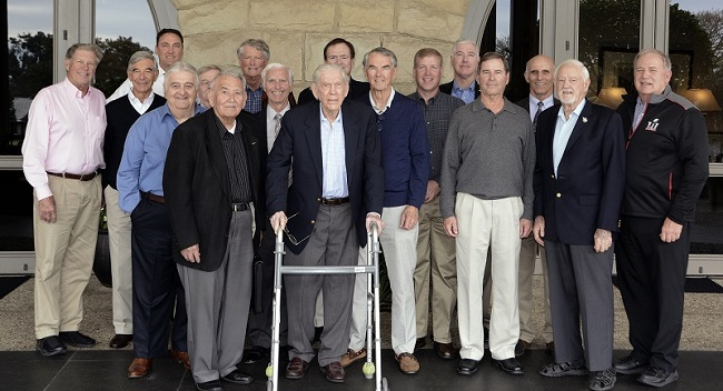 Current and Former Fighter Pilots Meet for Luncheon at Birnam Wood Golf Club