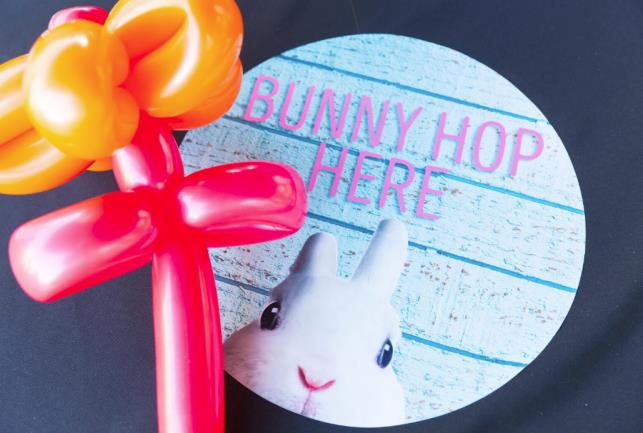 April 14-15 — The Collection at RiverPark Hops into spring with Bunny Hop event and photos