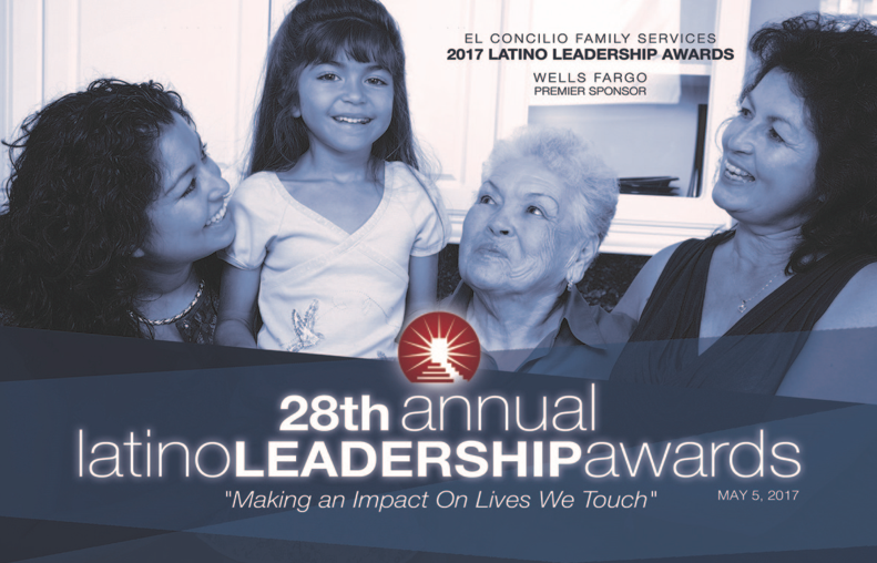 May 5 — Reservations being accepted for 28th annual El Concilio Family Services' Latino Leadership Awards