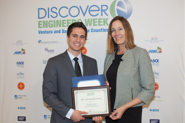 SBCC Student Awarded National Engineers Week Scholarship