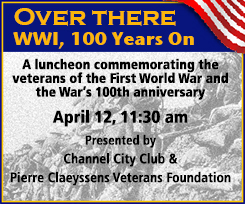 "April 12 — ""Over There – WWI 100 Years On"""