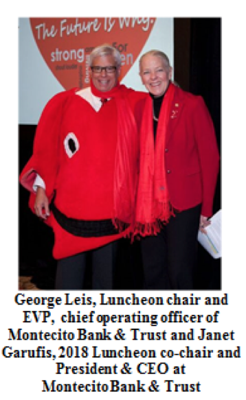 Santa Barbara Go Red For Women Luncheon Raises Awareness About Women and Cardiovascular Disease