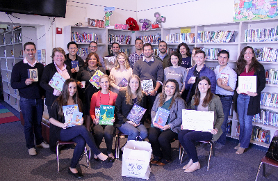 United Way of Santa Barbara County's Young Leaders Society Share Joys of Reading with Local Elementary Schools