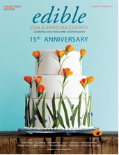 "April 3 — With ""Eat Local"" Focus, Pioneering Community Magazine Organization with Editions Across North America Celebrates 15 Years Edible Ojai & Ventura County Marks Milestone Anniversary"