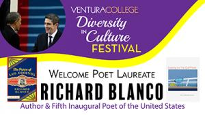 April 13 — Poet Laureate Richard Blanco to speak at Ventura College