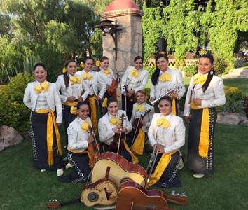 April 28 — ¡Viva el Arte de Santa Bárbara! presents Mariachi Femenil Nuevo Tecalitlán, women representing the traditions of Jalisco, from Guadalajara, Mexico