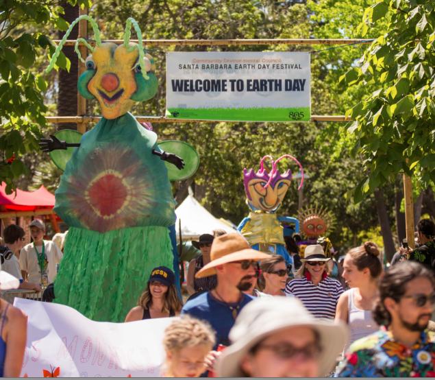 April 22 — Santa Barbara Earth Day Festival