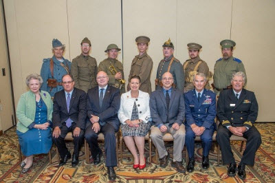 Luncheon Remembers Veterans of The Great War in Honor of WWI 100th Anniversary