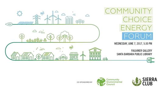 June 7 — Community Choice Energy Forum