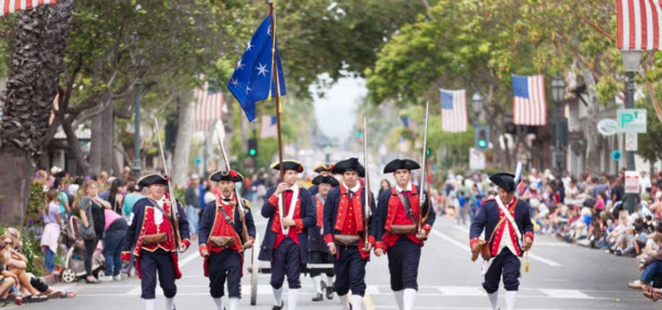 Pierre Claeyssens Veterans Foundation 'Takes the Helm' of Fourth of July Parade