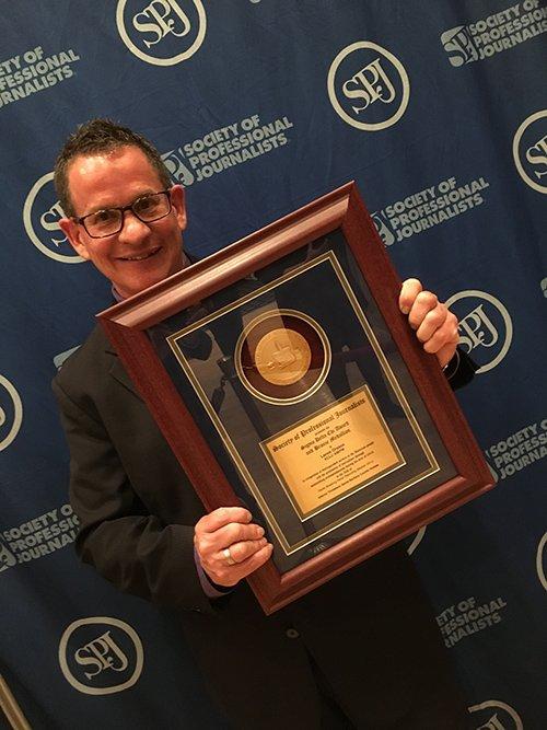KCLU journalist wins 3rd national award