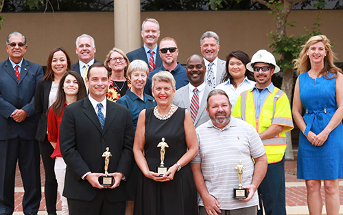 Ventura County Public Works Agency awards 2017 Employees of the Year