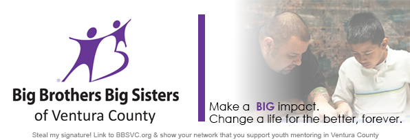 Sept. 14 — A Tribute to Lynne West: 30 Years of Service to Big Brothers Big Sisters of Ventura County
