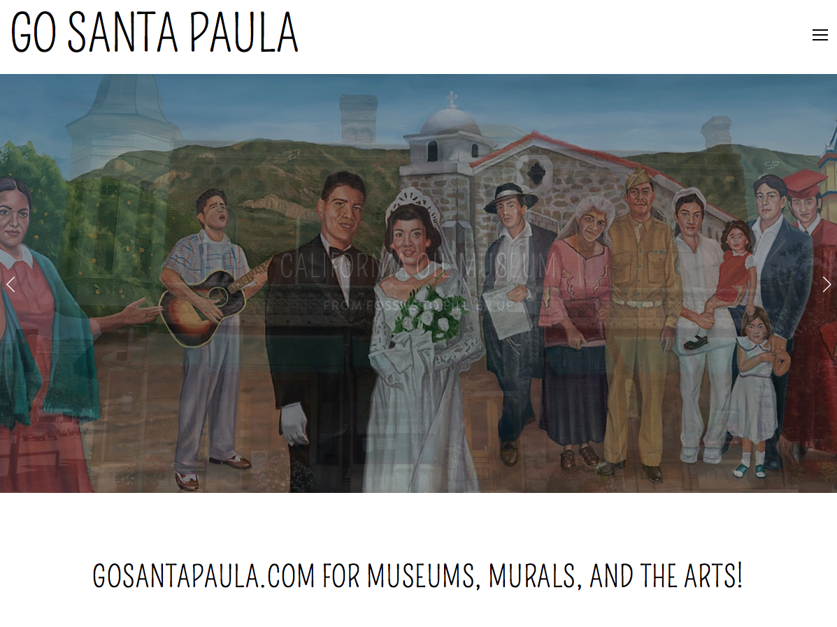 New Website for the Arts in Santa Paula
