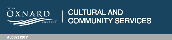City of Oxnard Cultural and Community Services update for Aug. 2