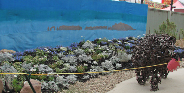 Landscape exhibit by Juvenile Facilities youth takes 3rd place at the Ventura County Fair