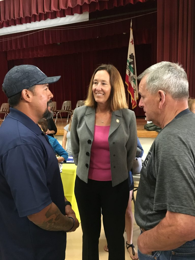 Assemblymember Irwin co-hosted Military and Veterans Expo and Job Fair