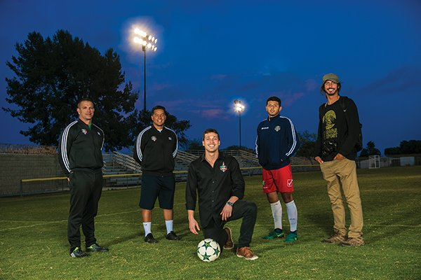 Here come the Guerreros — The Kingsmen running the professional soccer expansion club are trying to help the community of Oxnard