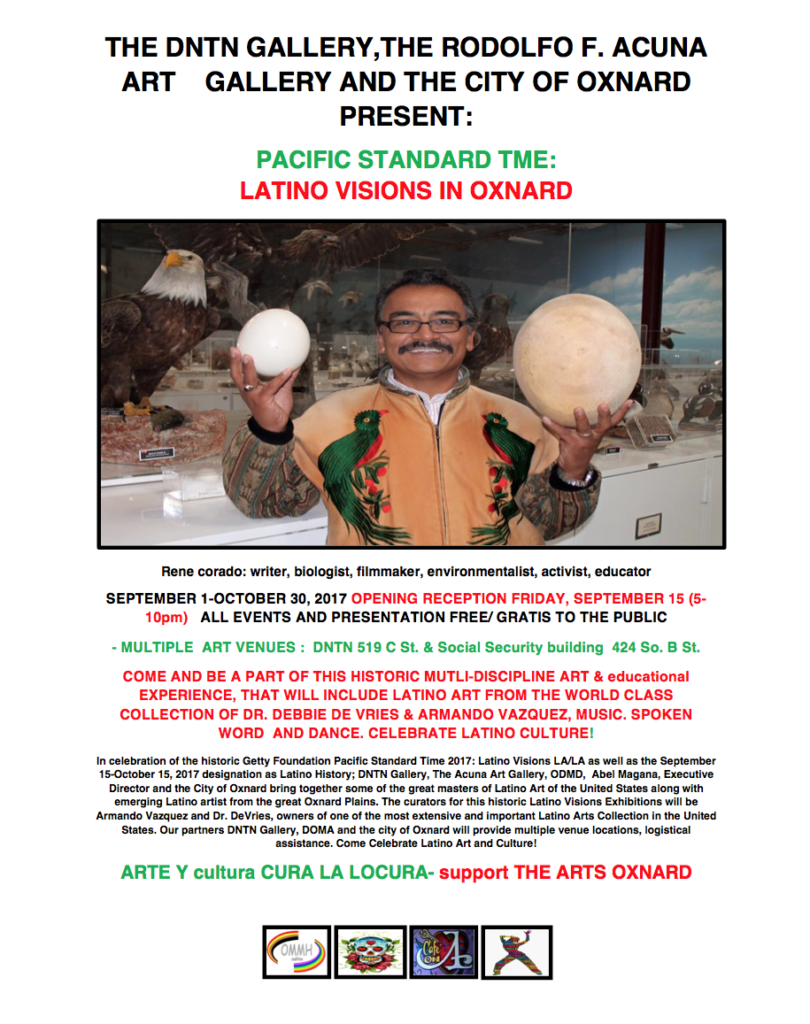 Through Oct. 30 — 'Celebration of Latino Arts & Culture: Pacific Standard Time — Latino Visions in Oxnard'