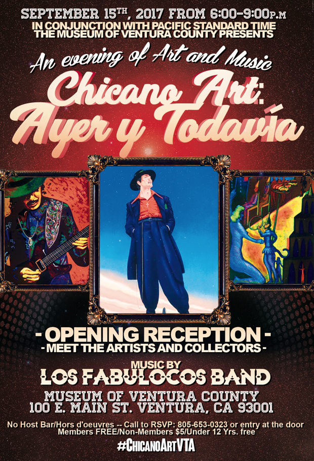 Sept. 15 — Celebrate Chicano Culture with the Museum of Ventura County's Ayer y Todavía