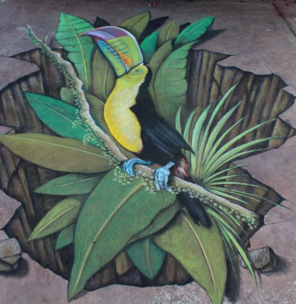 Sept. 9-10 — World renowned chalk artists to create sidewalk masterpieces at Ventura Art & Street Painting Festival