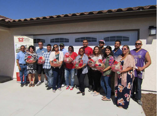 San Miguel Families Receive Keys to New Homes Built Through Peoples' Self-Help Housing Home Ownership Program