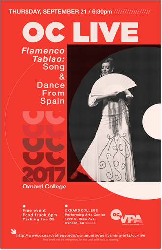 Sept. 21 — OC LIVE to present 'Flamenco Tablao: Song & Dance from Spain'